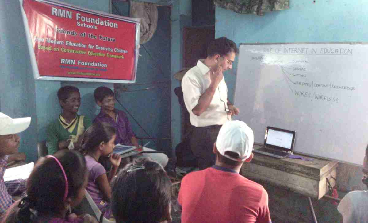 Advanced Internet Education for RMN Foundation School Students