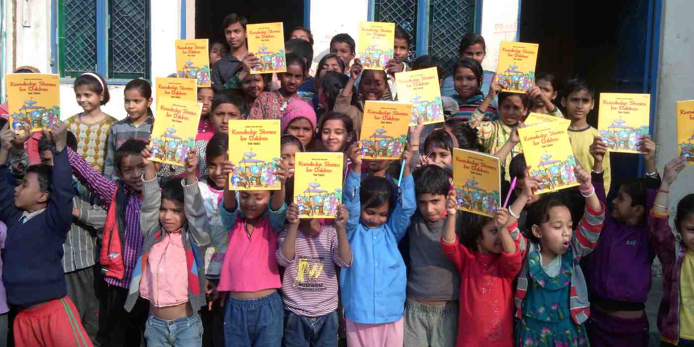RMN Foundation School Children in Delhi