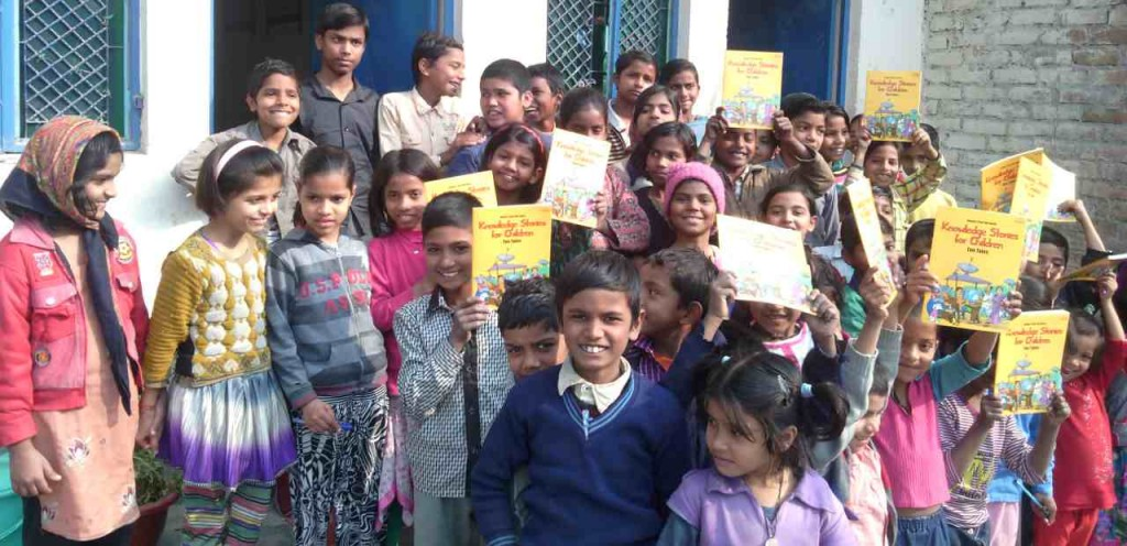 Children at RMN Foundation School: Free Modern Education