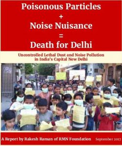 Research Report on Pollution in Delhi