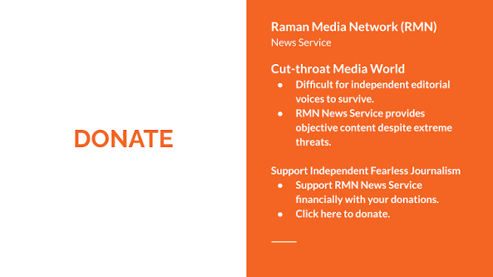 Support RMN News Service for Independent Fearless Journalism