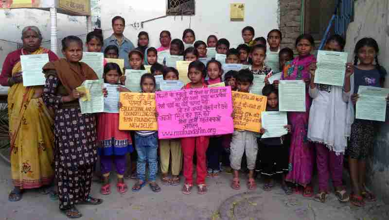 Led by founder Rakesh Raman, RMN Foundation launched the next phase of its education awareness campaign in New Delhi